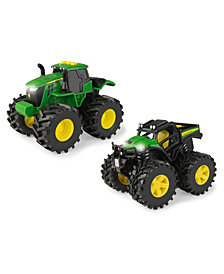 Tomy - John Deere Monster Treads Lights And Sounds, 2 Pack