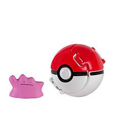Tomy - Pokemon Throw'N'Pop Poke Ball, Ditto