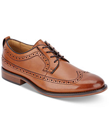 Dockers Men's Hausman Dress Wingtip Leather Oxfords