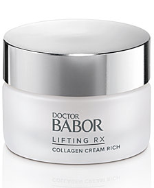 Receive a FREE Doctor Babor Lifting Rx Collagen Cream Deluxe with $45 BABOR purchase! (a $50 value!)
