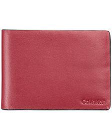 Calvin Klein Men's Slimfold Leather Wallet