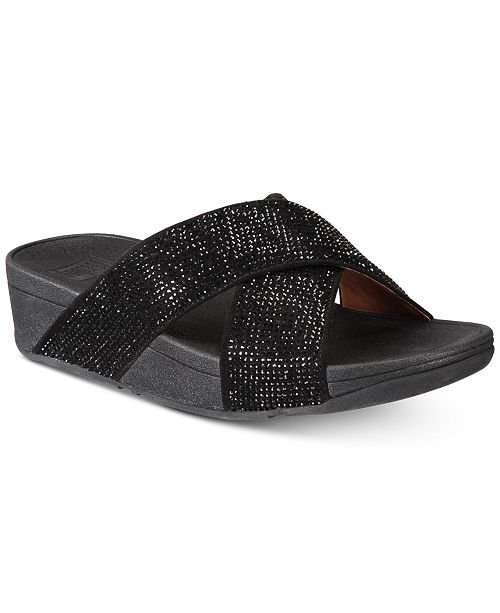 b29e335851c9 FitFlop Ritzy Slide Sandals   Reviews - Sandals   Flip Flops - Shoes ...