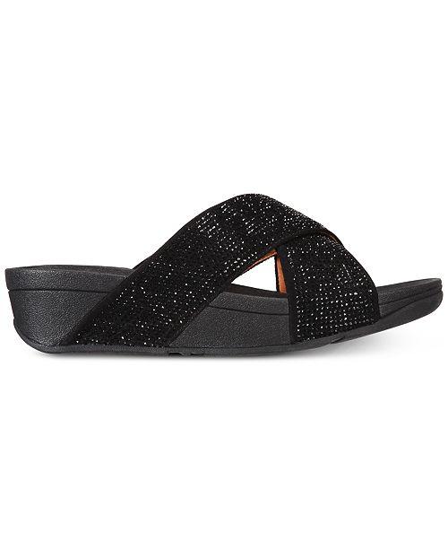 1aac4a947 FitFlop Ritzy Slide Sandals   Reviews - Sandals   Flip Flops - Shoes ...