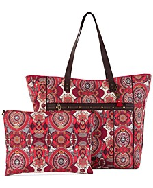 Printed Travel Tote