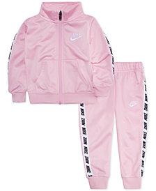 Nike Baby Girls 2-Pc. Track Jacket & Jogger Pants Set