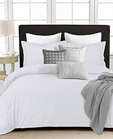 350 Thread Count Cotton Percale Oversized Duvet Covet Sets