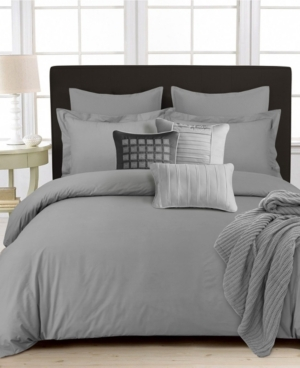 350 Thread Count Cotton Percale Oversized Queen Duvet Covet Set Bedding