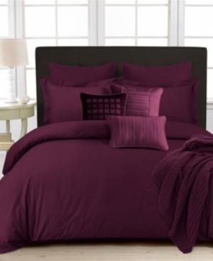 350 Thread Count Cotton Percale Oversized Queen Duvet Covet Set Bedding