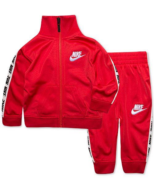 05a104f297 Nike Baby Boys 2-Pc. Jacket & Pants Track Set & Reviews - Sets ...