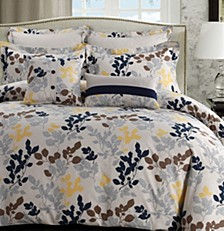 Barcelona 300 Thread Count Cotton Oversized Queen Duvet Cover Set
