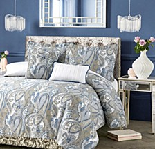 Paisley Park 300 Thread Count Cotton Oversized King Duvet Cover Set