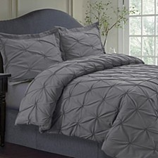 Sydney Microfiber Oversized Twin Duvet Cover Set