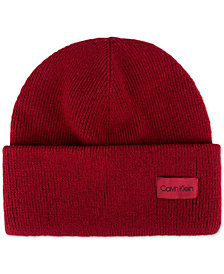Calvin Klein Men's Cuffed Beanie, Created for Macy's