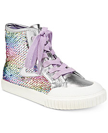 Tretorn Little & Big Girls Marley Sequin Sneakers