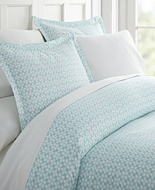 Home Collection Premium Ultra Soft Starlight Pattern 3 Piece Duvet Cover Set, King