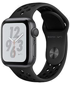 AppleWatch Nike+ Series4 GPS, 40mm Space Gray Aluminum Case with Anthracite Black Nike Sport Band