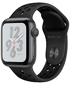 Apple Watch Nike+ Series 4 GPS, 40mm Space Gray Aluminum Case with Anthracite Black Nike Sport Band