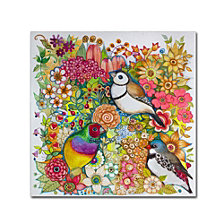Oxana Ziaka 'Exotic Birds' Canvas Art Collection