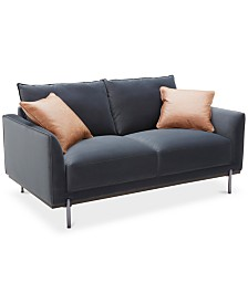 "CLOSEOUT! Havant 65"" Fabric Loveseat"