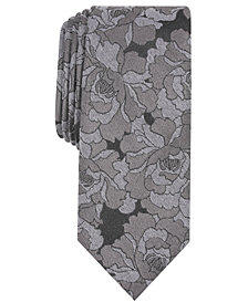 Bar III Men's Pomona Floral Skinny Tie, Created for Macy's