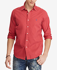 Polo Ralph Lauren Men's Slim Fit Oxford Cotton Shirt