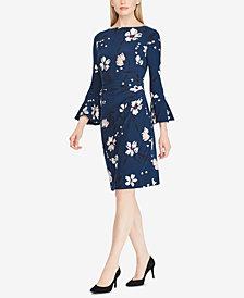 Lauren Ralph Lauren Floral-Print Bell-Sleeve Dress