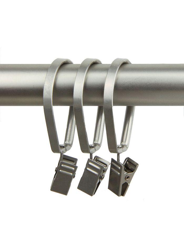 Rod Desyne - Curtain Pivot Rings for 1 inch Rod (Set of 10) - Satin Nickel