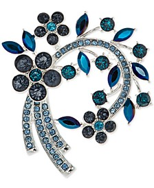 Stone Flower Cluster Arched Pin, Created for Macy's