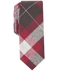 Penguin Men's Kline Plaid Skinny Tie