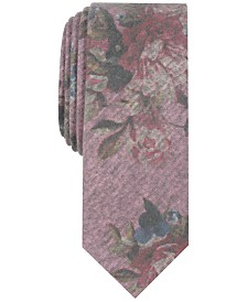 Penguin Men's Townley Floral Skinny Tie