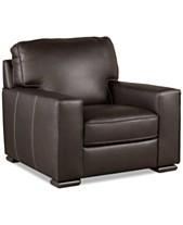 Aloise 41 Leather Arm Chair