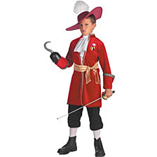 Peter Pan Disney Captain Hook Big Boys Costume