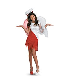 Heavenly Devil Little and Big Girls Costume