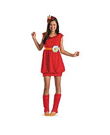 Elmo Big Girls or big Girls Costume