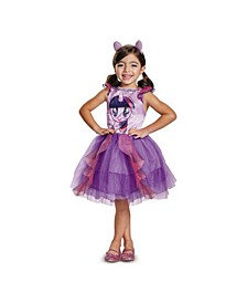 My Little Pony Twilight Sparkle Classic Toddler Little and Big Girls Costume