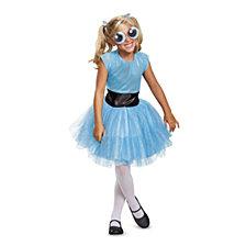 Powerpuff Girls Bubbles Tutu Deluxe Big Girls Costume