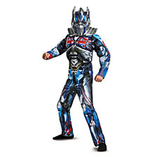Transformers Optimus Prime Classic Muscle Big Boys Costume