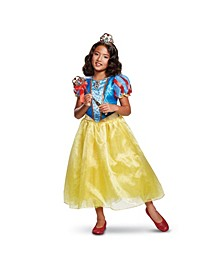 Snow White Deluxe Toddler Little and Big Girls Costume