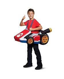 Super Mario Bros. Mario Kart Little and Big Boys Costume