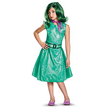 Disney Inside Out Classic Little Girls Disgust Costume