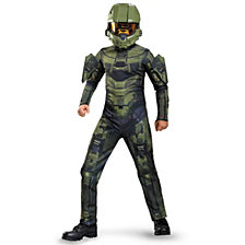 Halo Master Chief Classic Big Boys Costume