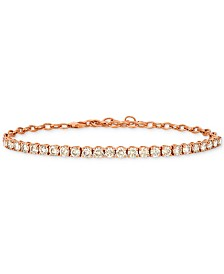 Le Vian® Diamond Link Bracelet (4 ct. t.w.) in 14k Rose Gold
