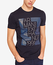 A|X Armani Exchange Men's Glossy Box Logo T-Shirt