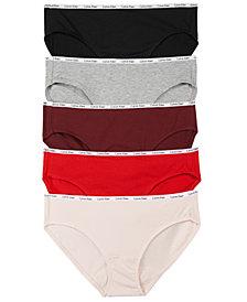 Calvin Klein 5-Pk. Women's Signature Logo Bikini QD3713