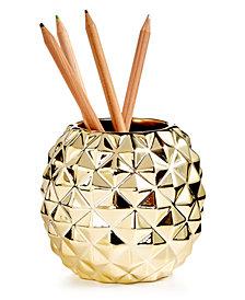 Tri-Coastal Design Pineapple Pencil Holder