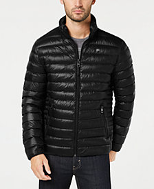 Calvin Klein Men's Packable Down Quilted Jacket
