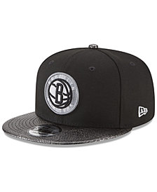 New Era Brooklyn Nets Snakeskin Sleek 9FIFTY Snapback Cap