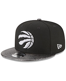 New Era Toronto Raptors Snakeskin Sleek 9FIFTY Snapback Cap