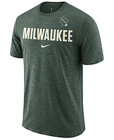 Nike Men's Milwaukee Bucks Essential Facility T-Shirt