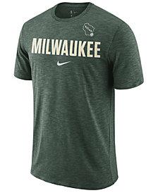 Nike Men's Milwaukee Bucks Essential Facility T-Shirt